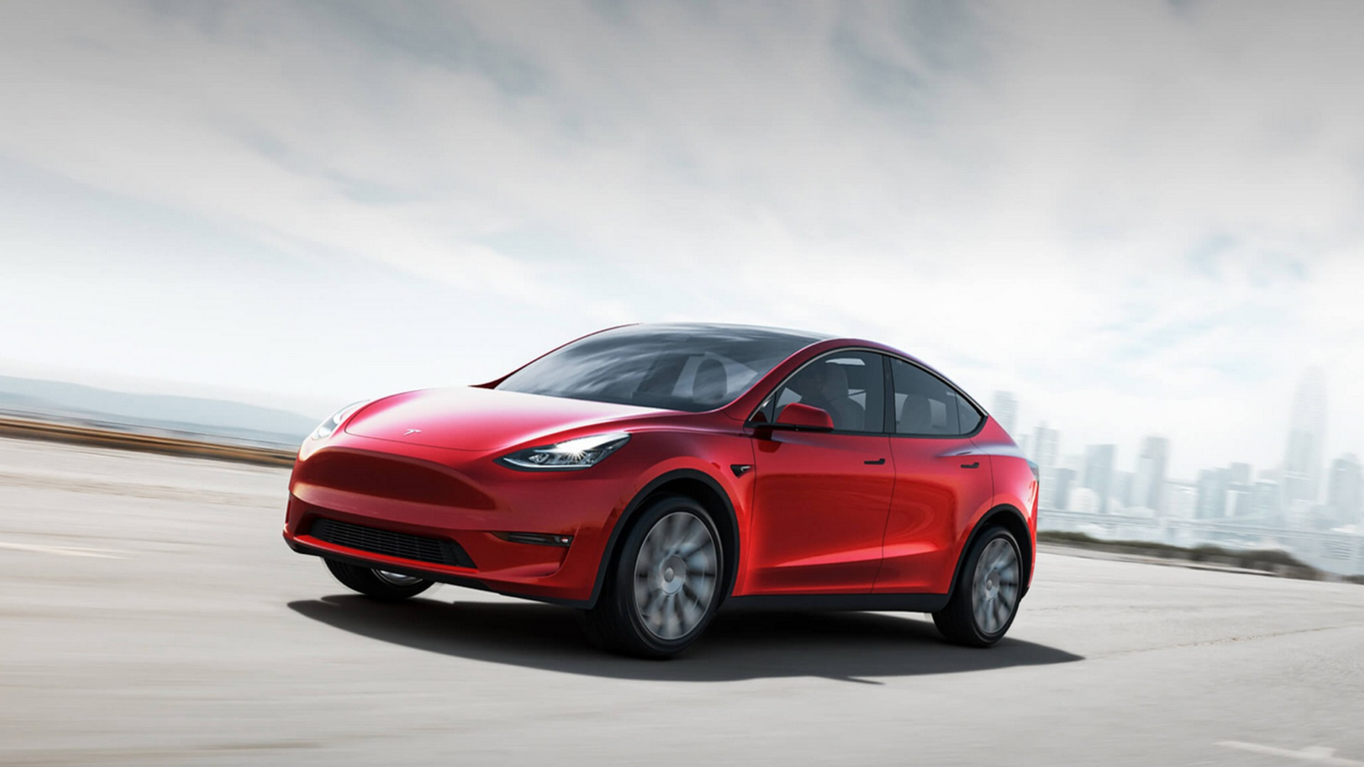 Tesla officially unveils the Model Y