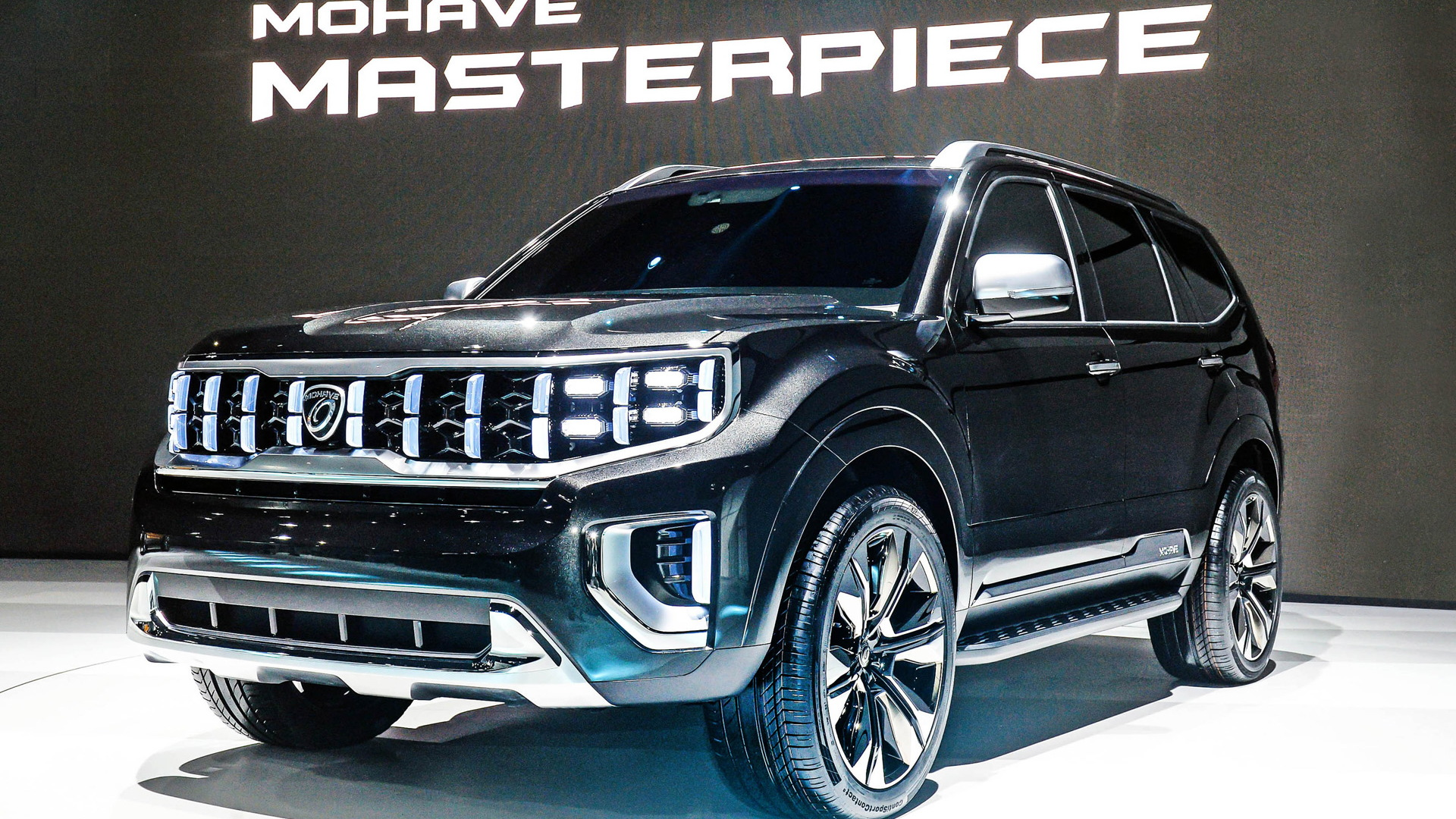 Kia teases a modern Borrego with Mohave Masterpiece concept