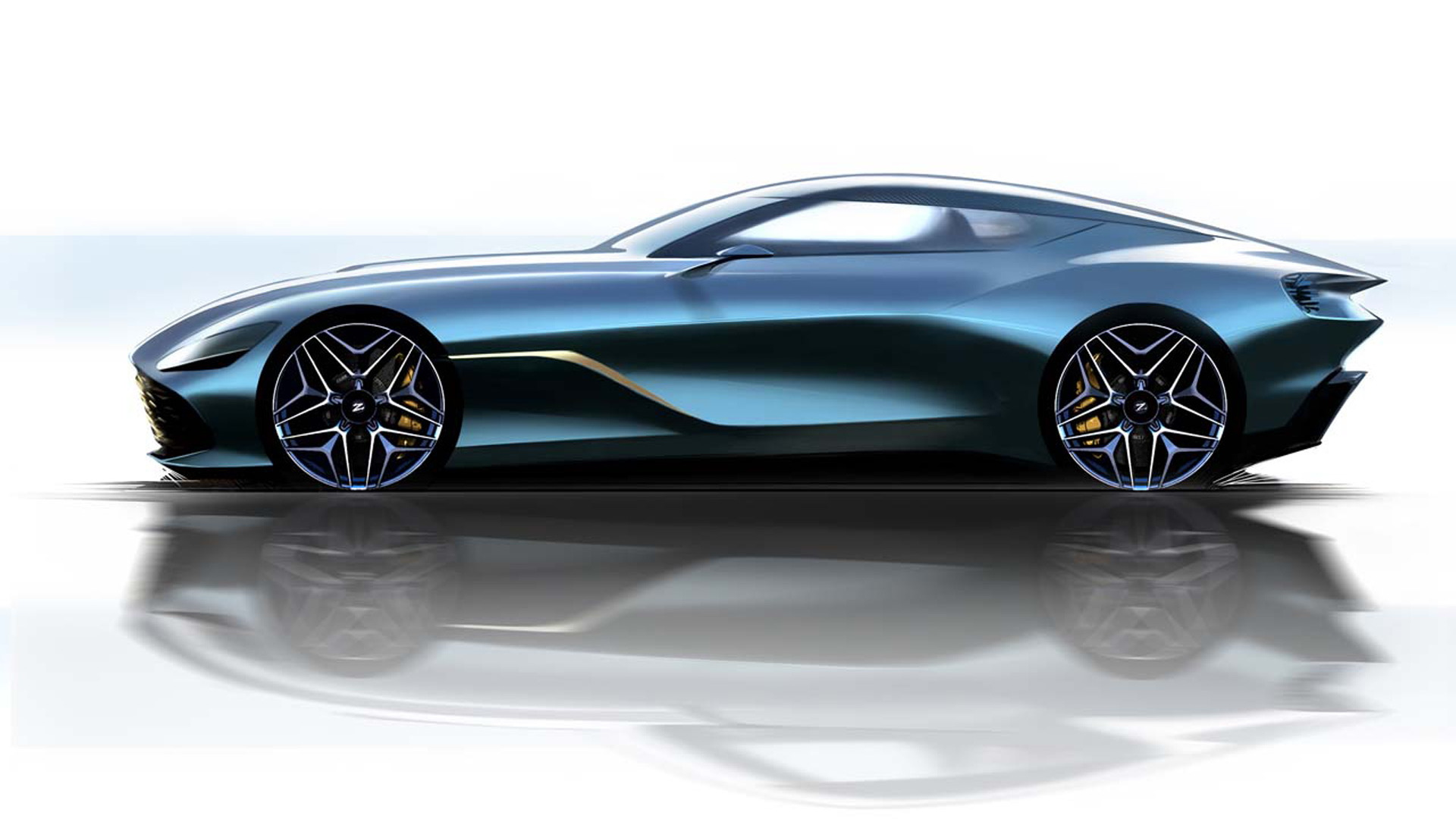 Aston Martin Teases Ultra-Limited DBS GT Zagato Sketches