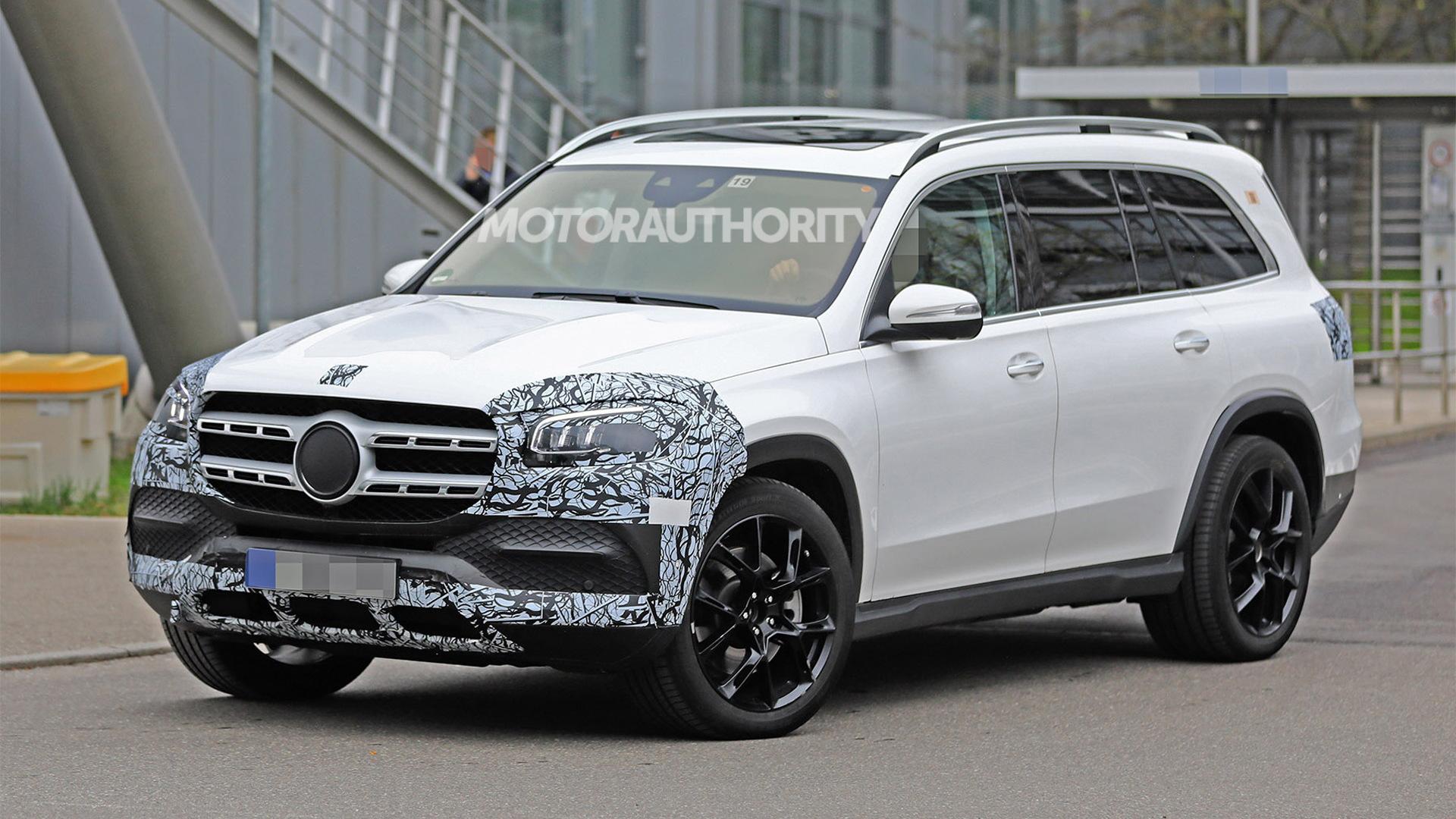 2020 Mercedes-Benz GLA Spy Shots, Rumors >> 2020 Mercedes Benz Gls Spy Shots And Video