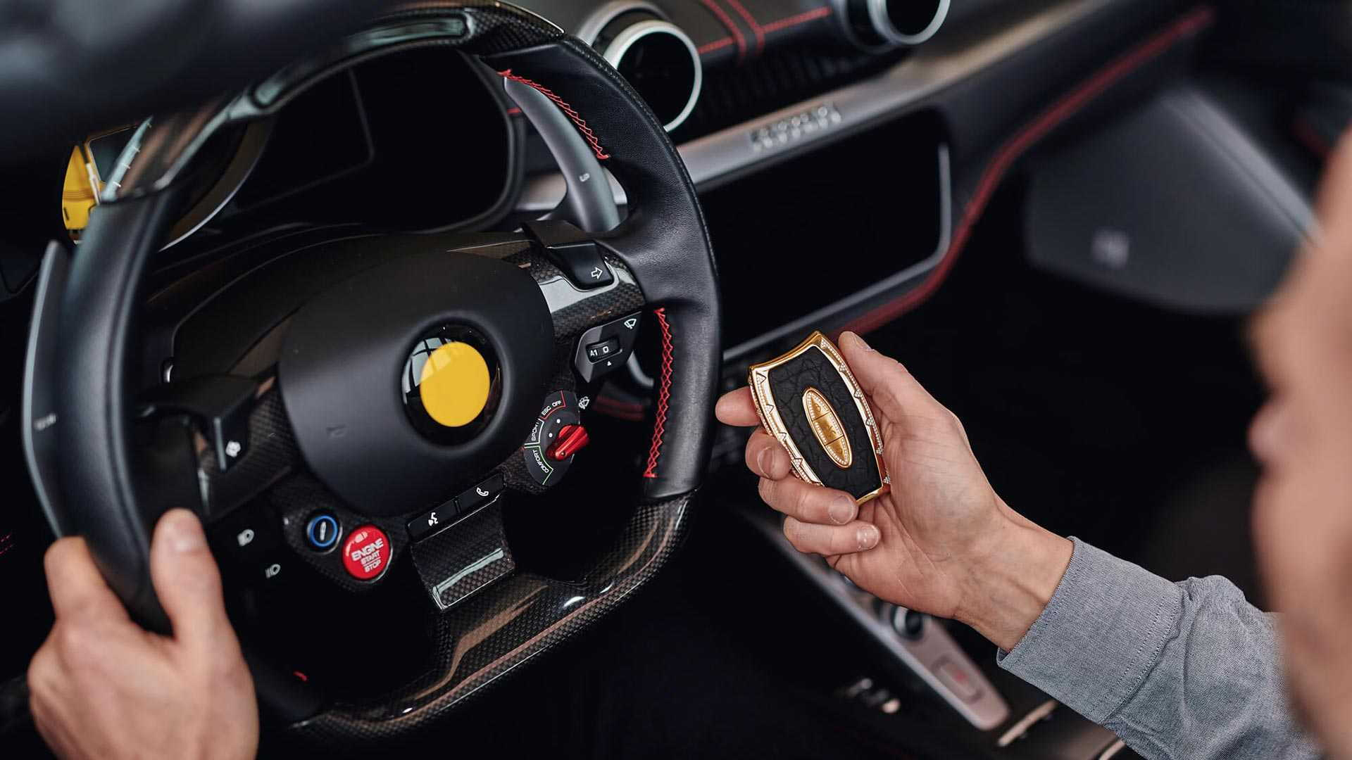 Awain Phantom luxury car key