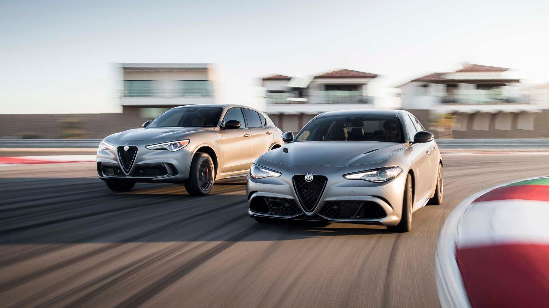2019 Alfa Romeo Giulia and Stelvio Quadrifoglio NRING