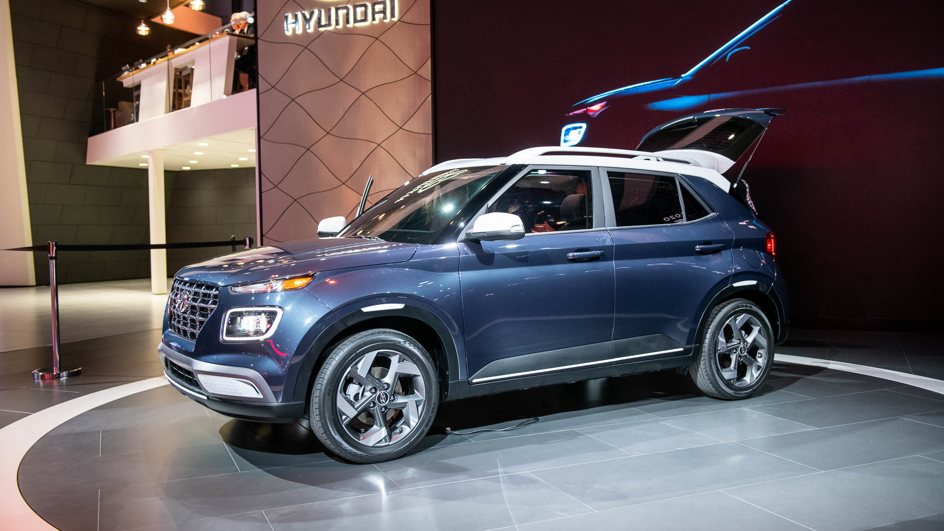 2020 Hyundai Venue, 2019 New York International Auto Show