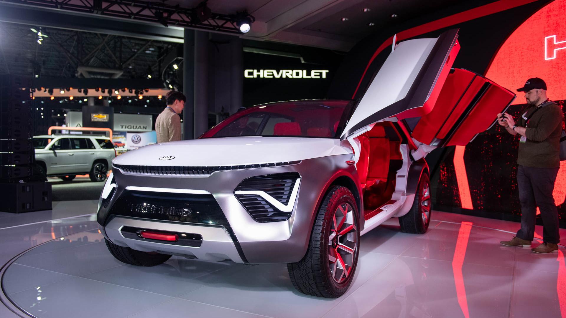 Kia Habaniro Concept, 2019 New York International Auto Show