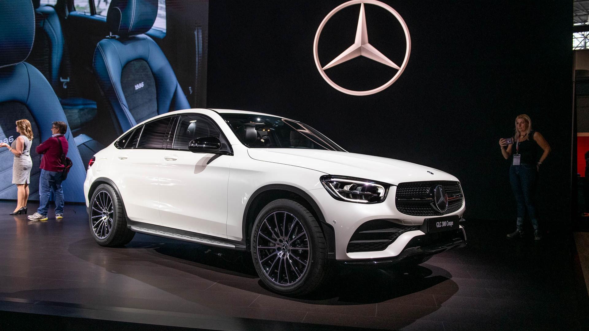 2020 Mercedes Benz Glc300 Gets Tougher Look More Tech