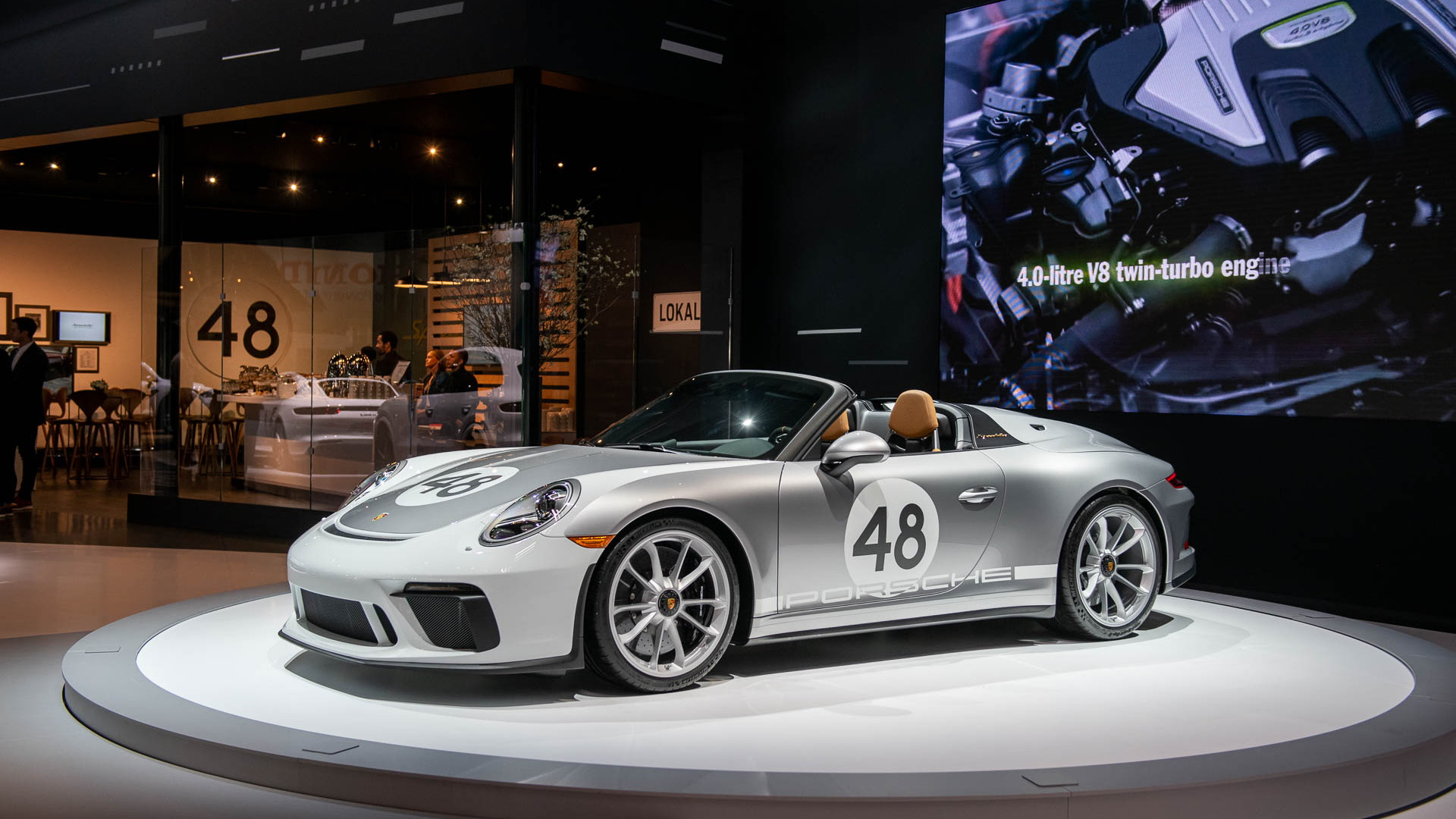 2019 Porsche 911 Speedster, 2019 New York International Auto Show