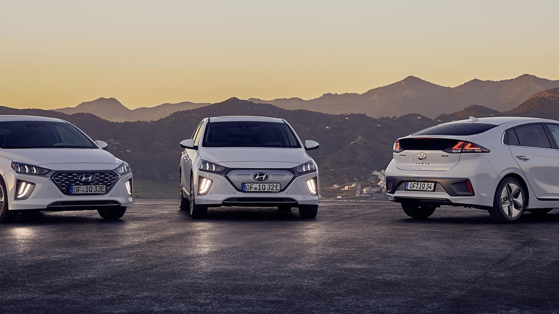 2020 Hyundai Ioniq (European spec)