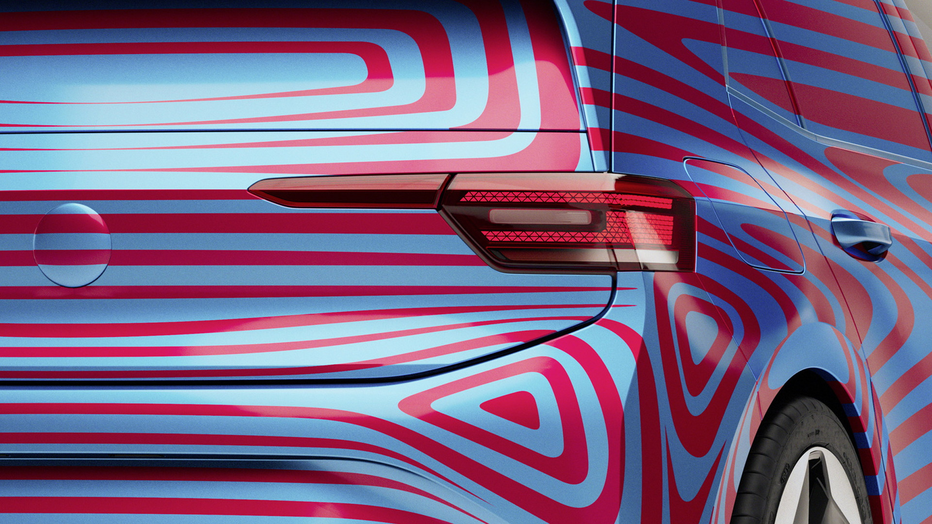 Teaser for 2020 Volkswagen ID 3 debuting at 2019 Frankfurt auto show