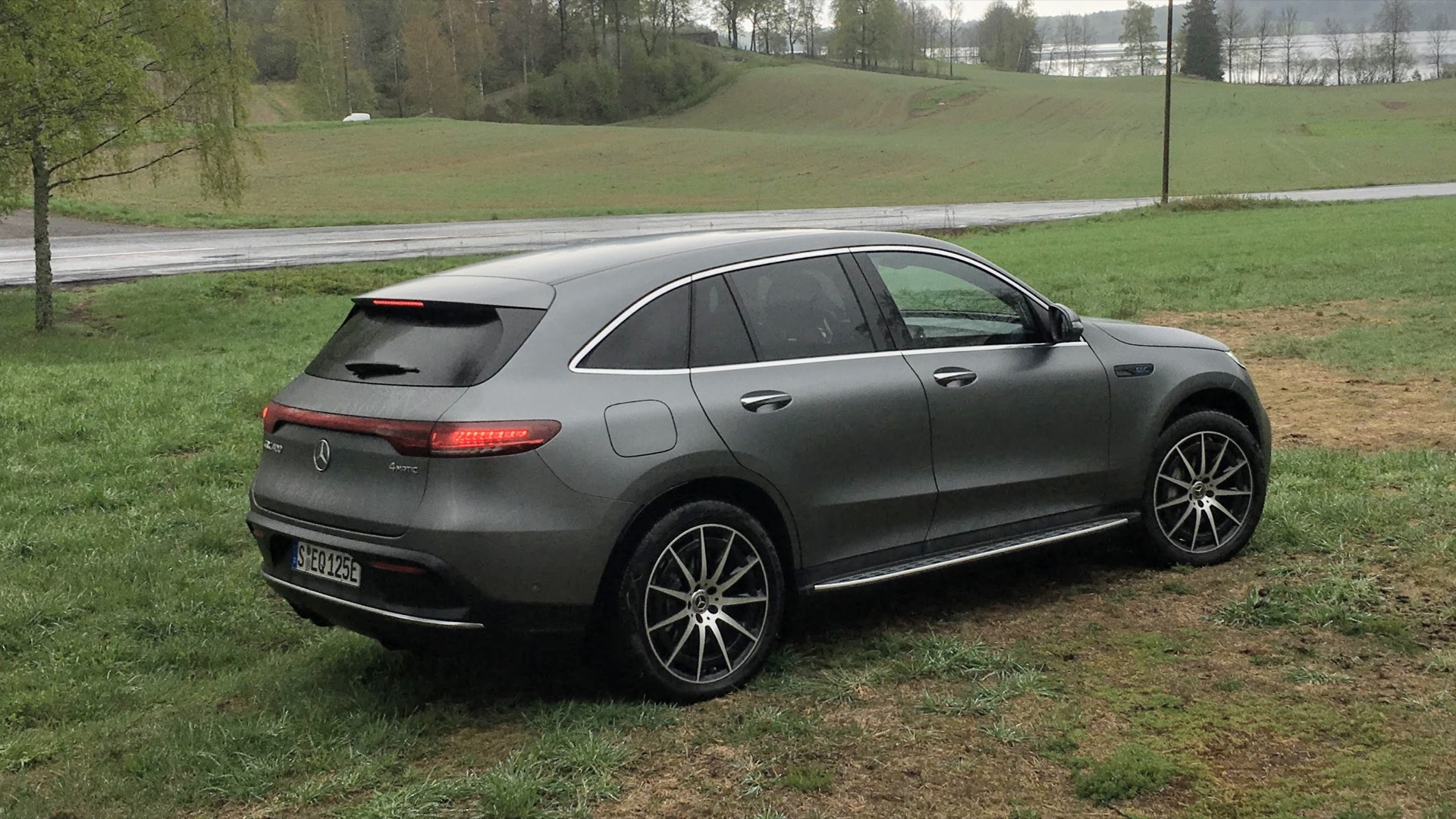 2020 Mercedes-Benz EQC 400 first drive  -  Norway, May 2019