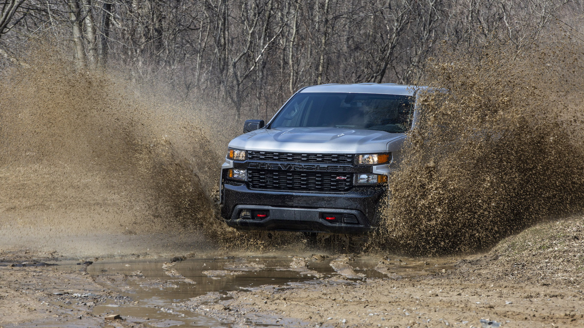 2020 Chevrolet Silverado Custom Trail Boss