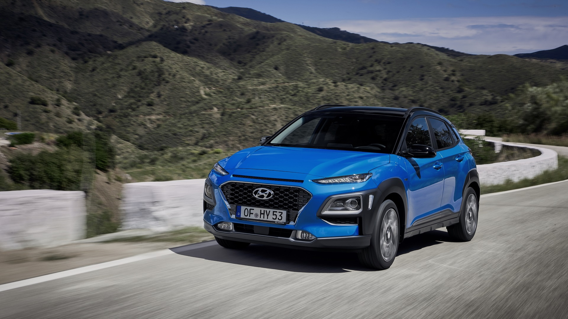 hyundai kona hybrid announced for europe not confirmed for us. Black Bedroom Furniture Sets. Home Design Ideas