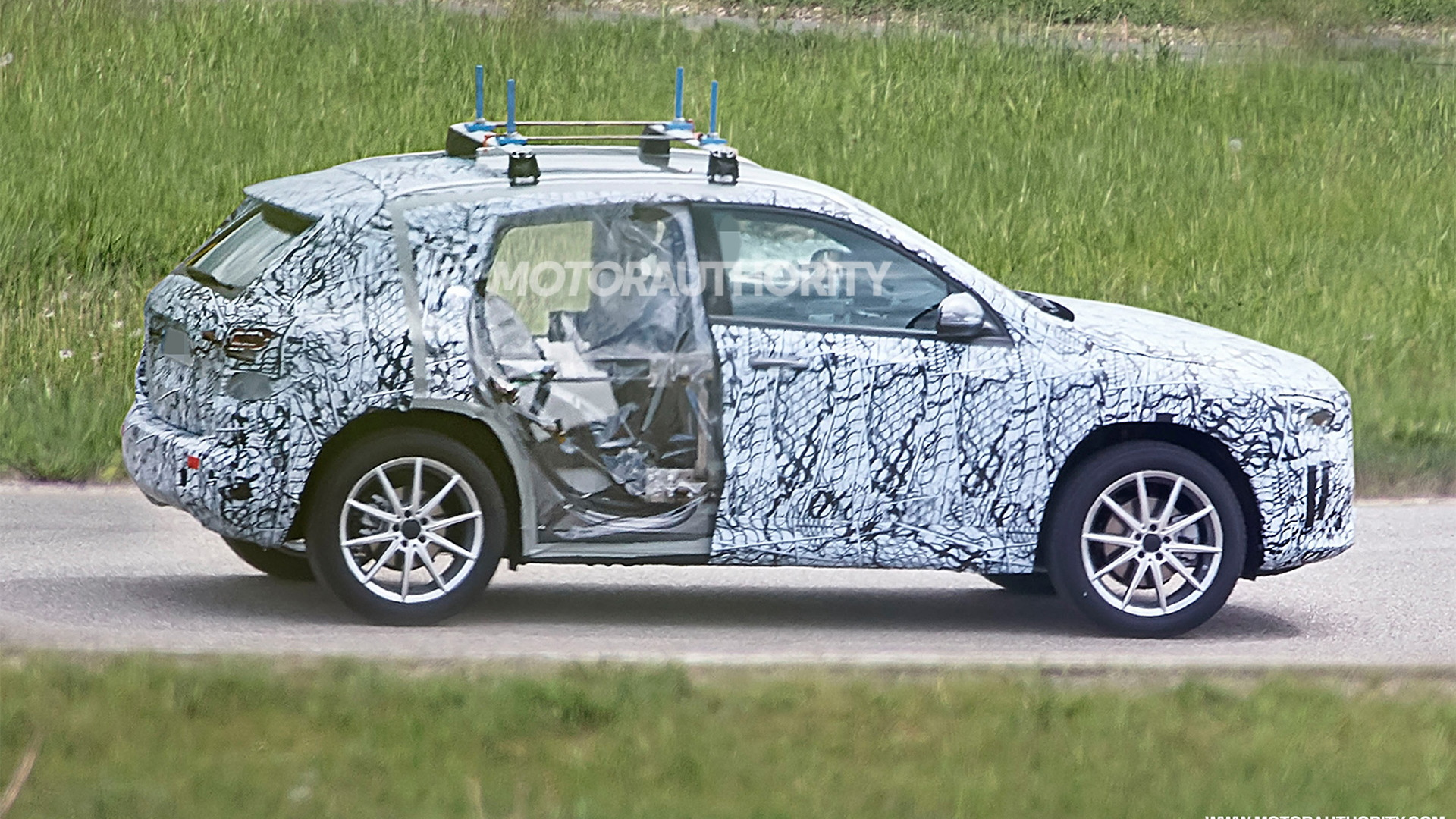 2021 Mercedes-Benz GLA spy shots - Image via S. Baldauf/SB-Medien
