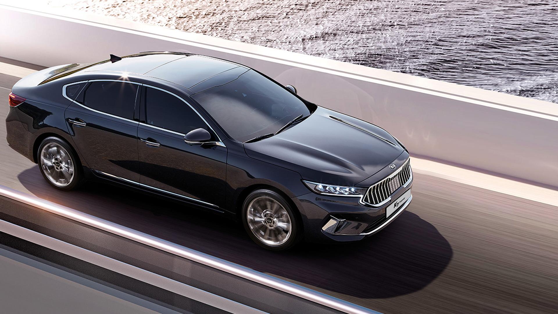 2020 Kia Cadenza (Korean market model)