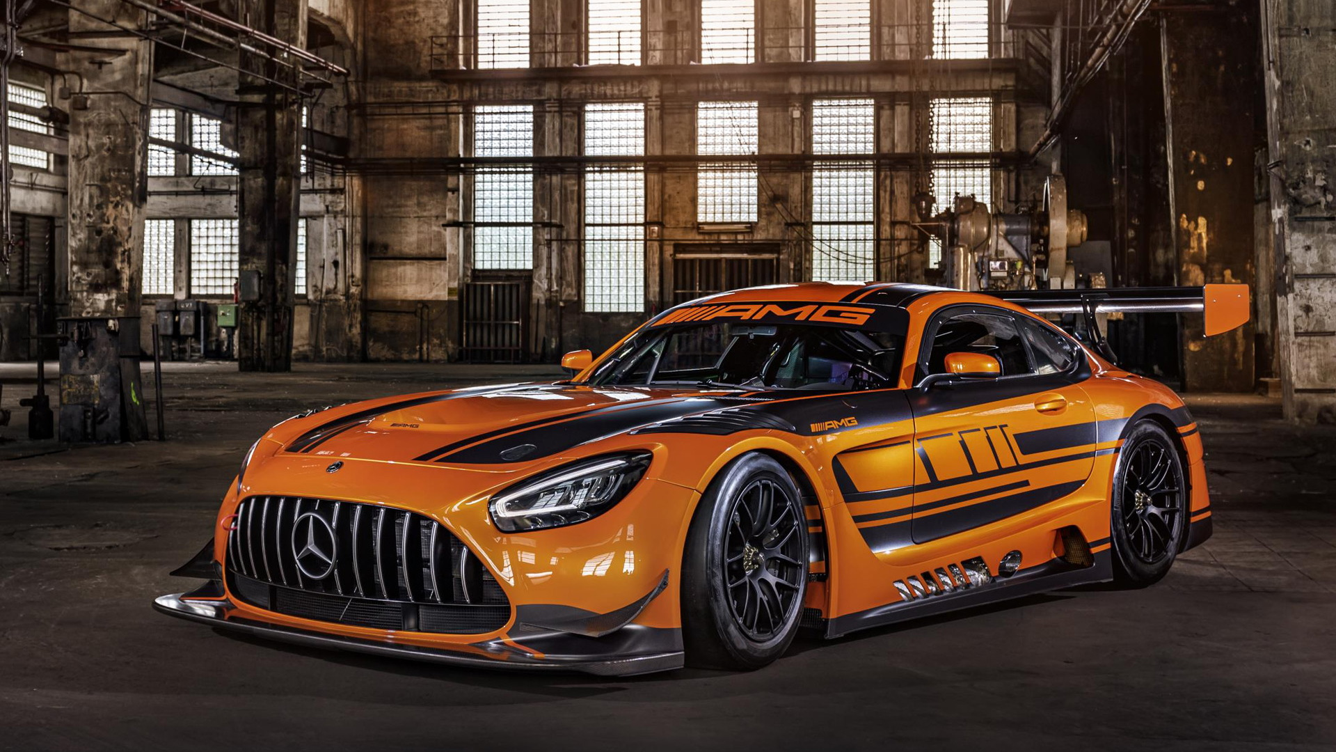2020 Mercedes-AMG GT3 race car