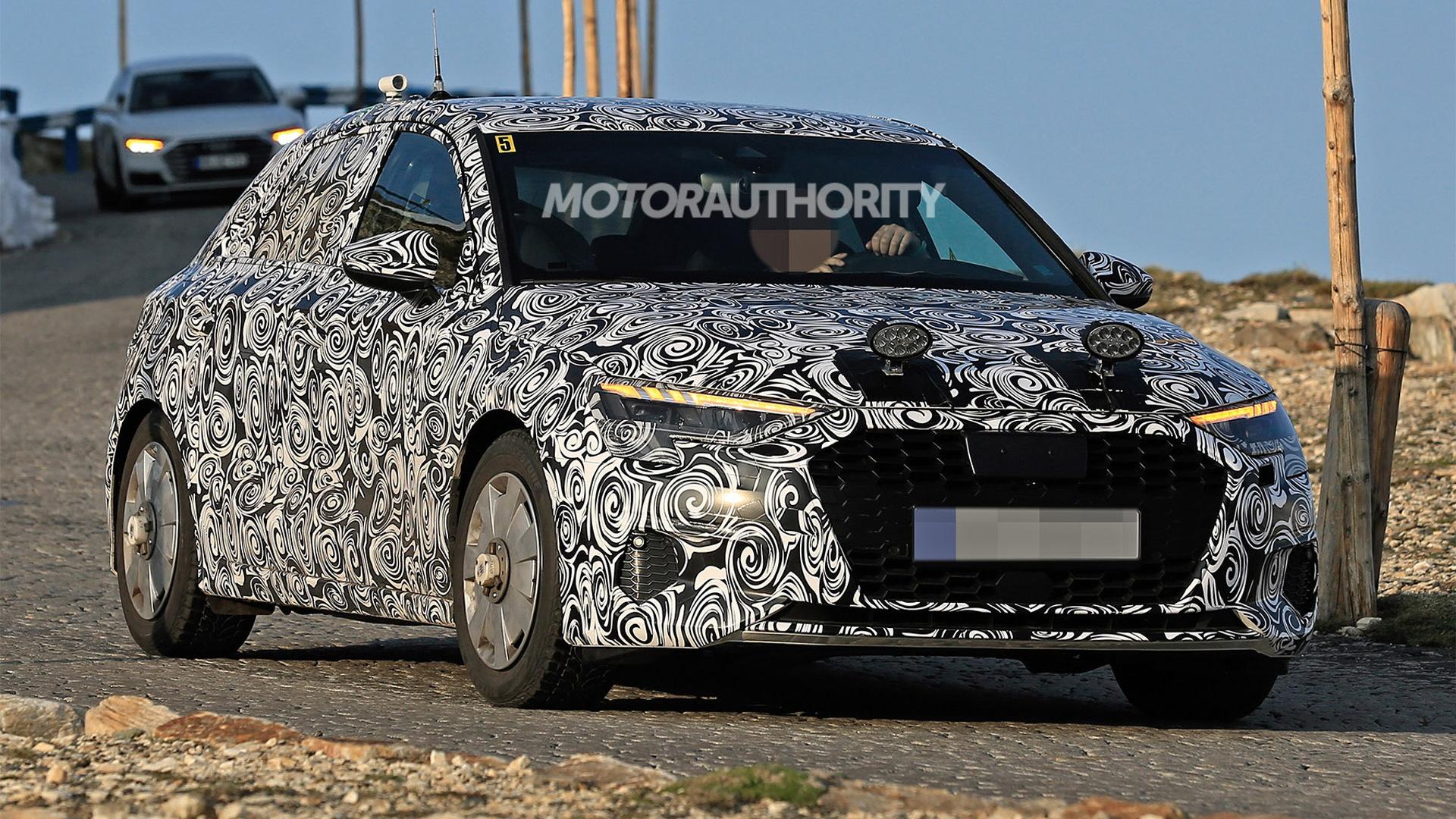 2021 Audi A3 Sportback spy shots - Image via S. Baldauf/SB-Medien
