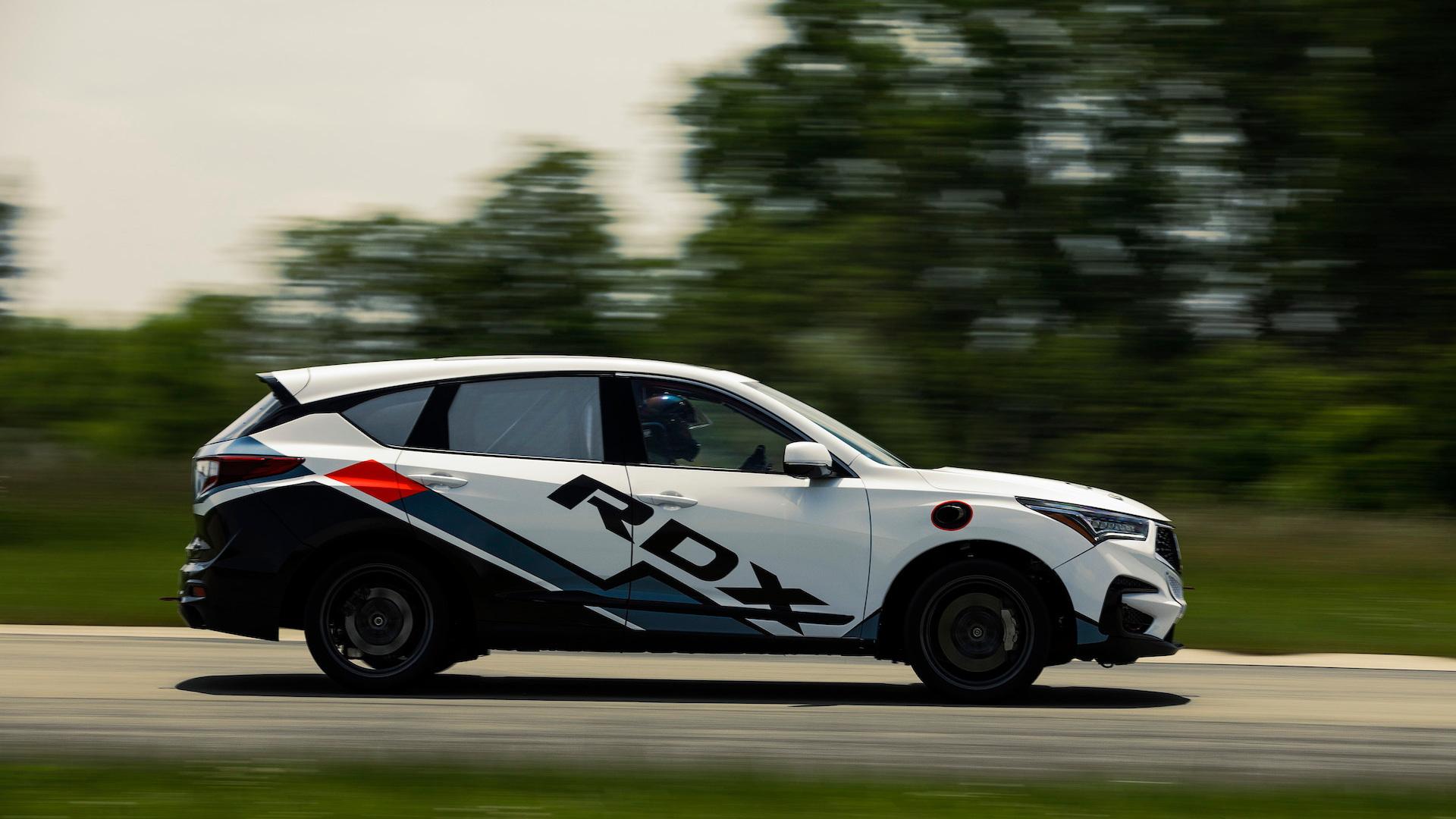 Acura RDX Pikes Peak Hill Climb race car