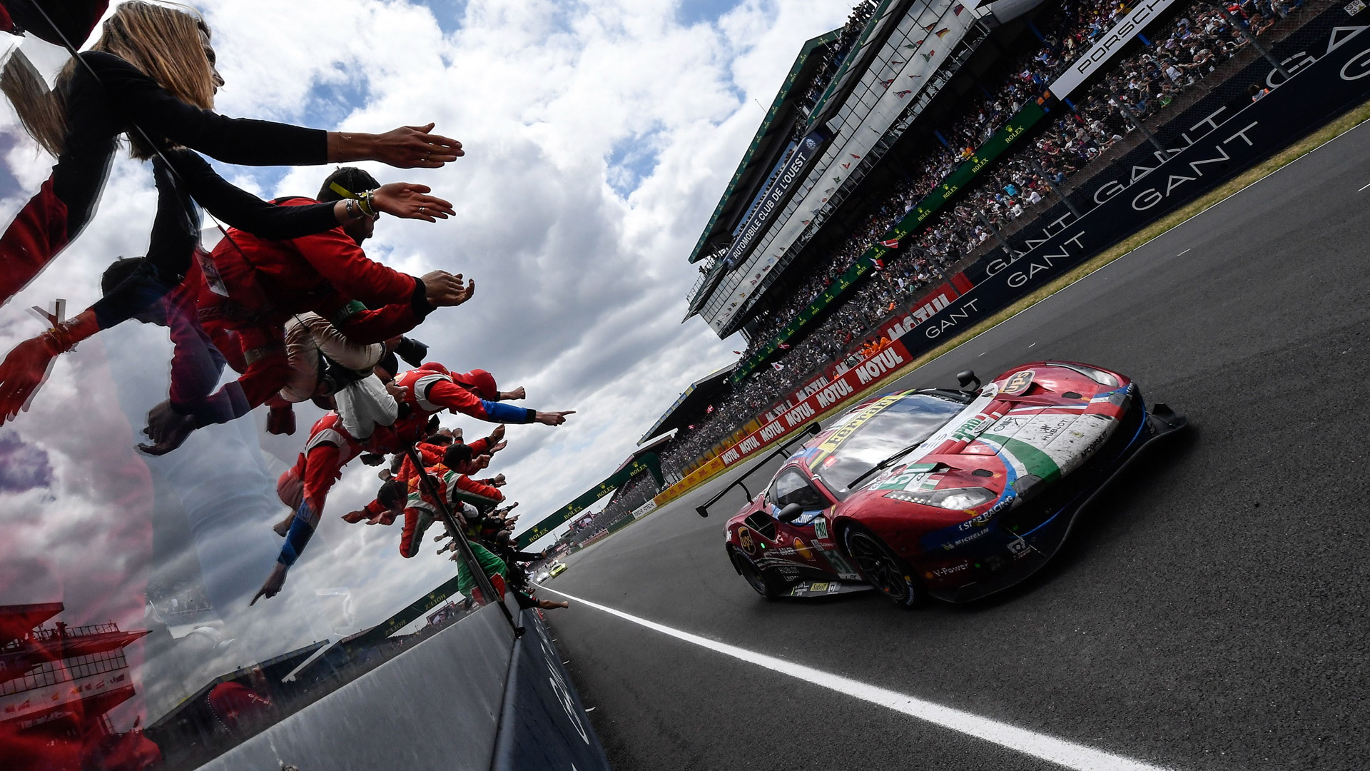 AF Corse/Ferrari at the 2019 24 Hours of Le Mans