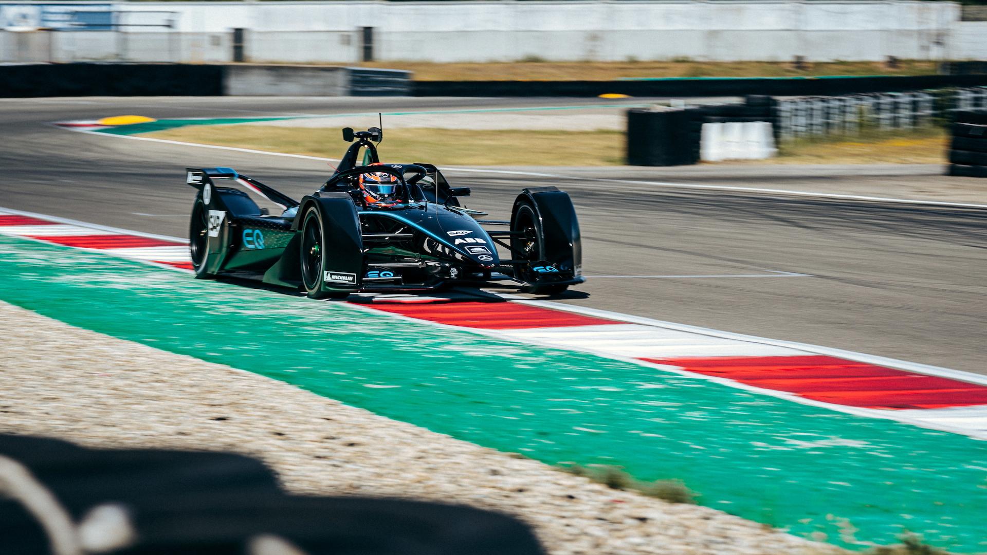 Mercedes-Benz EQ Silver Arrow 01 Formula E race car, 2019