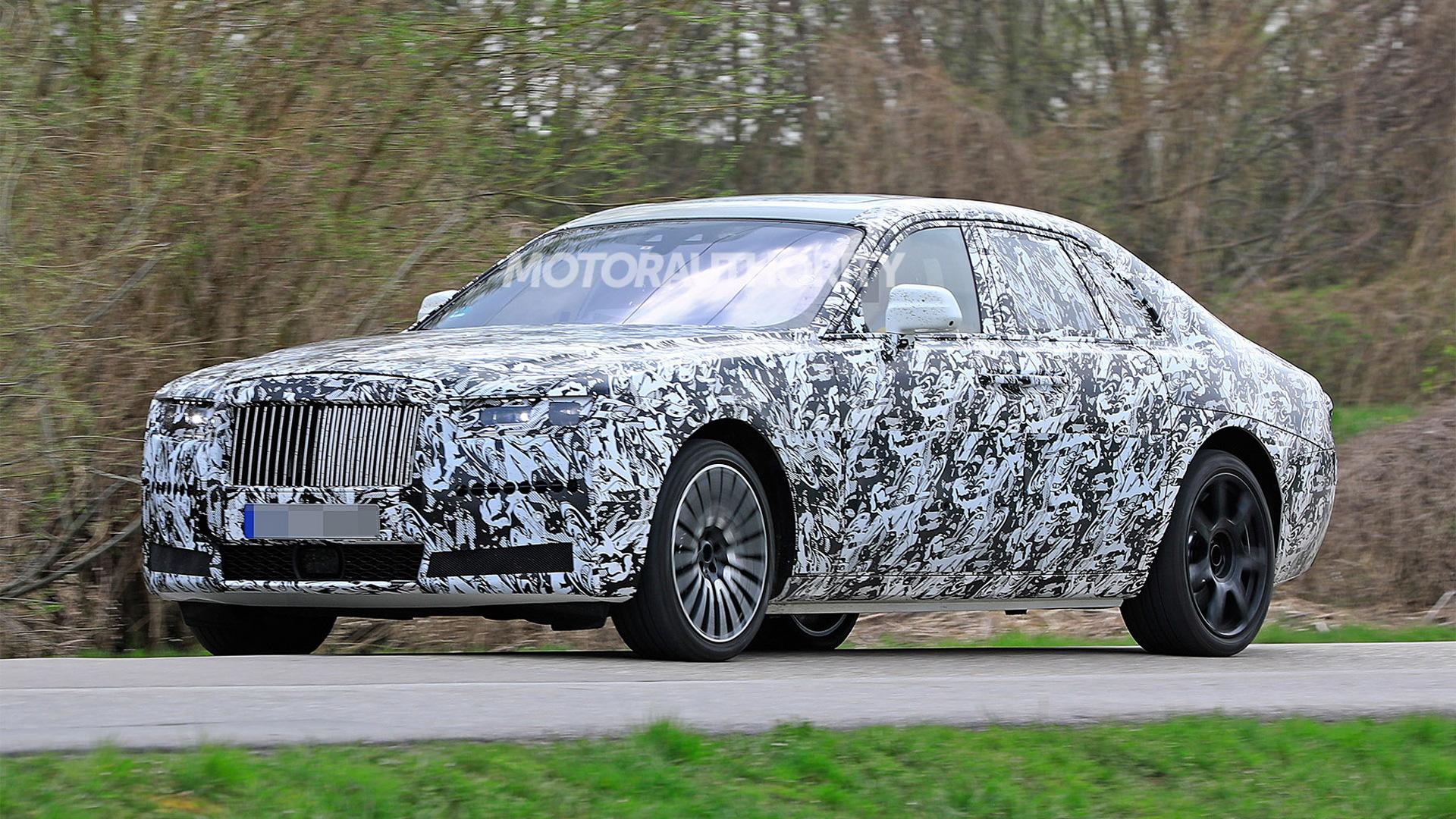 2021 Rolls-Royce Ghost spy shots - Image via S. Baldauf/SB-Medien