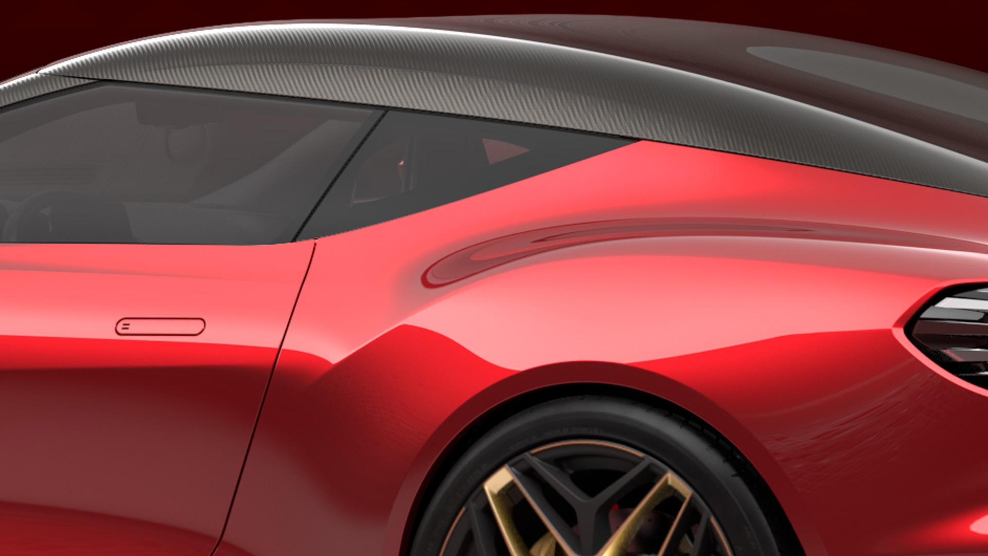 Teaser for Aston Martin DBS GT Zagato