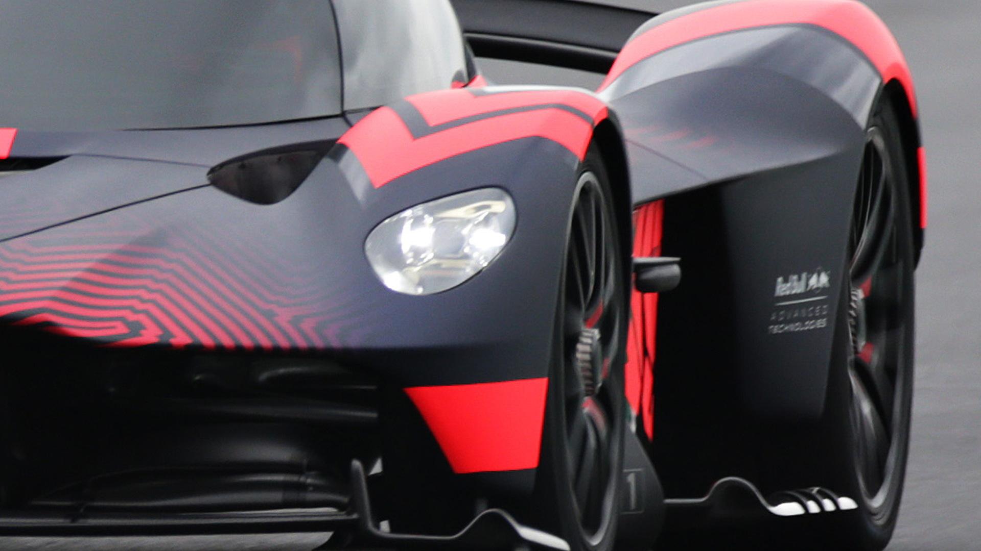 Aston Martin Valkyrie prototype