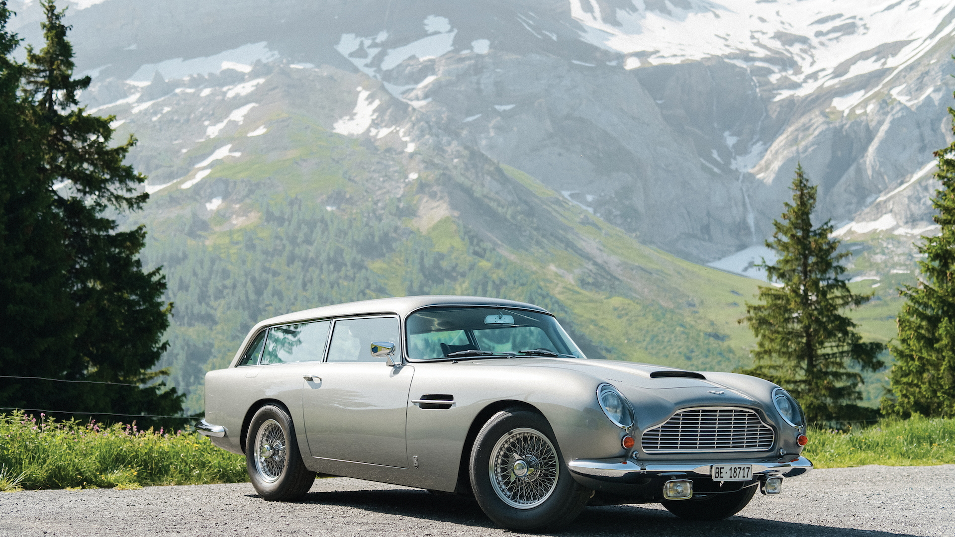 1965 Aston Martin DB5 Shooting Brake Photo: RM Sotheby's