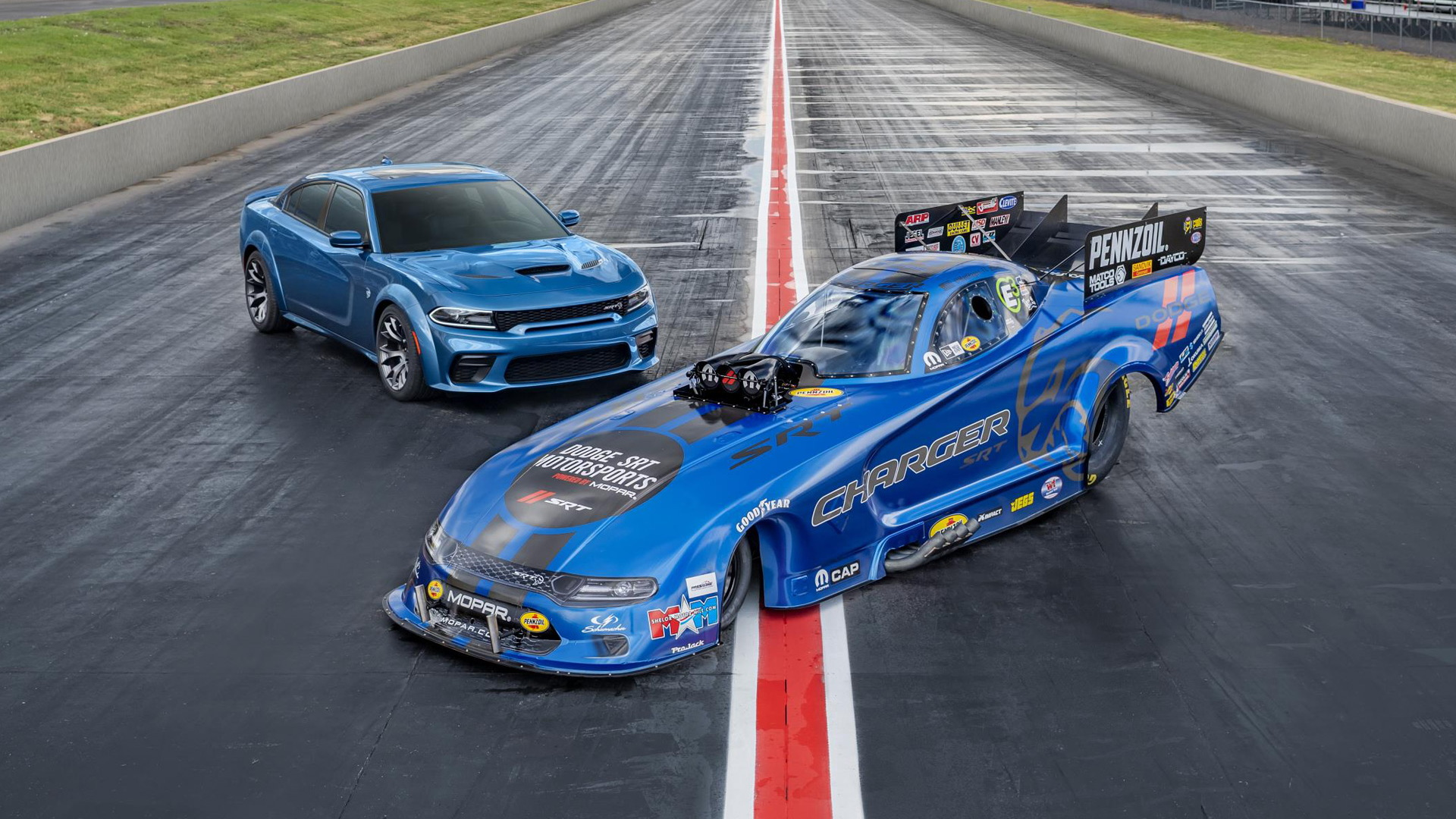 2019 Mopar Dodge Charger SRT Hellcat Widebody NHRA Funny Car