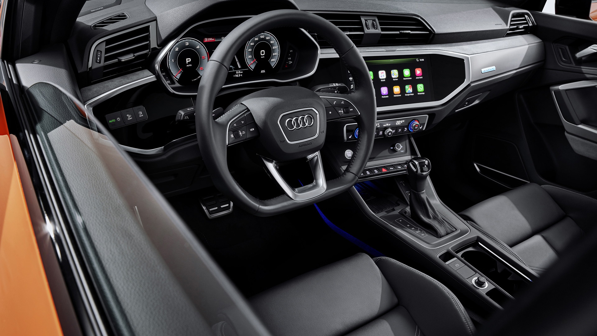 Research New 2021 Audi Q3 Interior