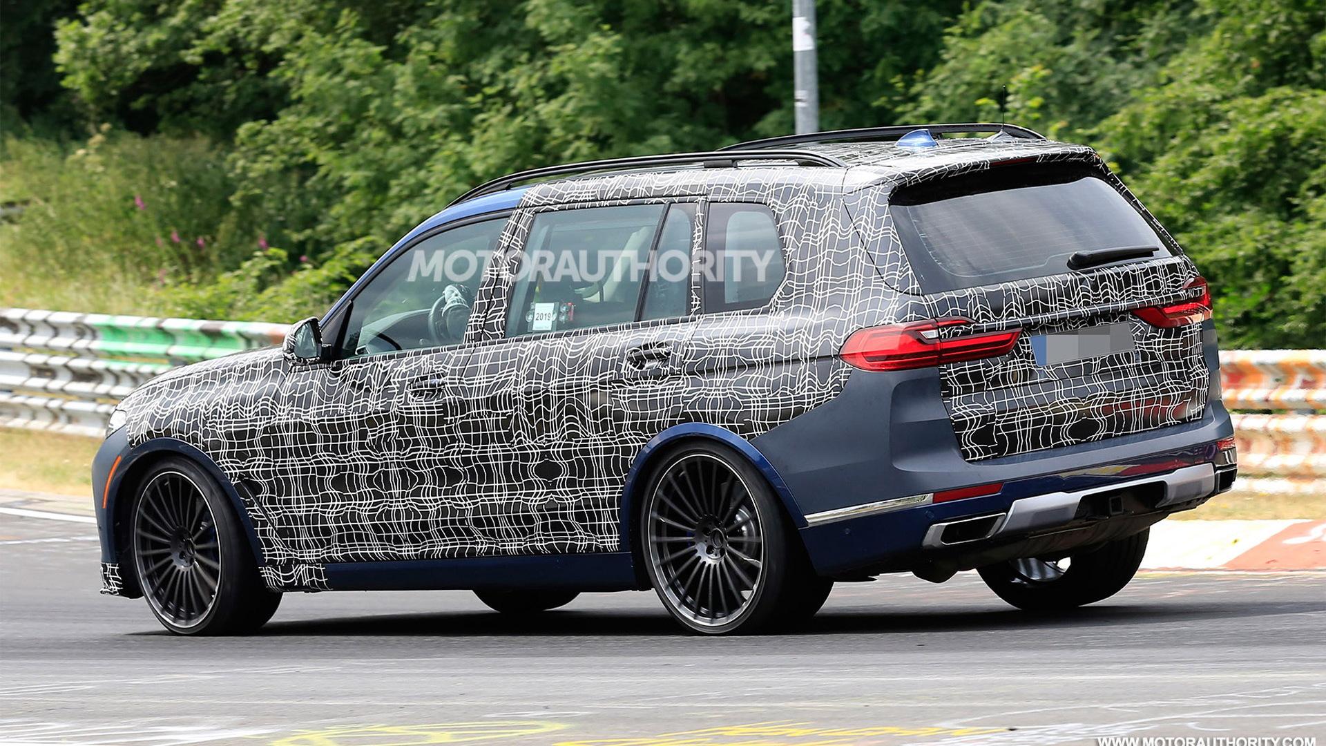 2020 BMW Alpina XB7 spy shots - Image via S. Baldauf/SB-Medien