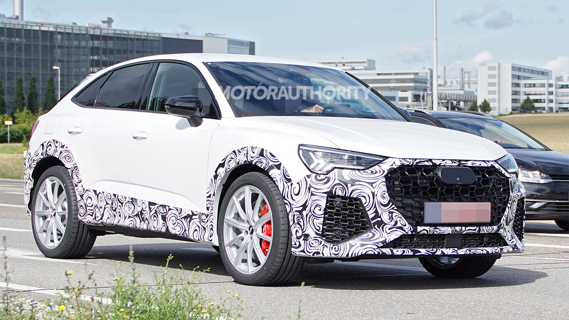 2020 Audi RS Q3 Sportback spy shots - Photo credit: S. Baldauf/SB-Medien
