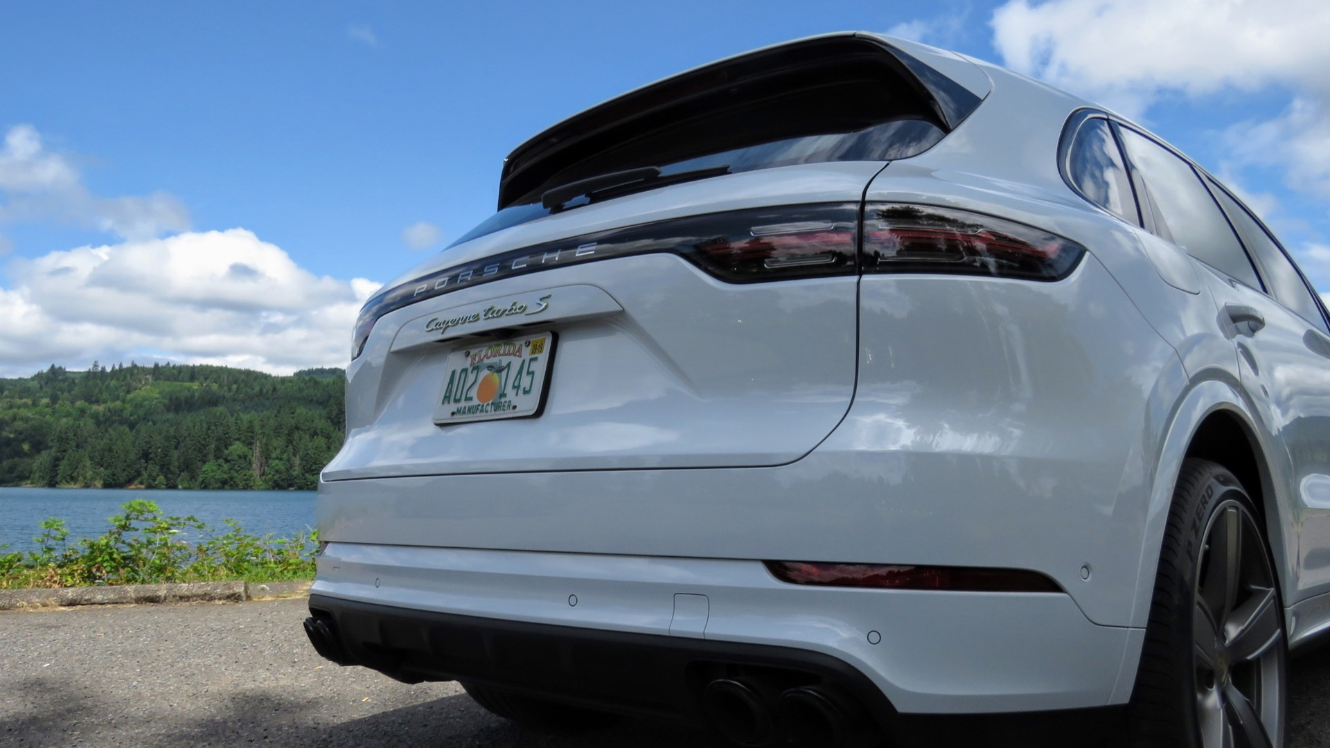 2020 Porsche Cayenne Turbo S E-Hybrid  -  preview drive