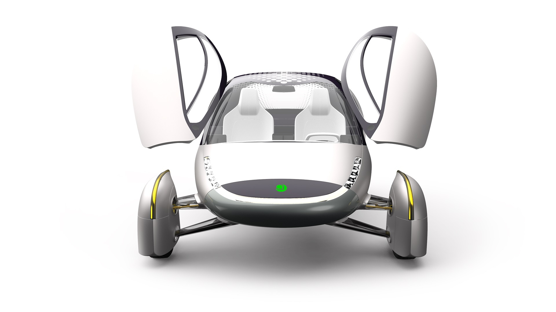 Design for new Aptera electric car, Aug 2019