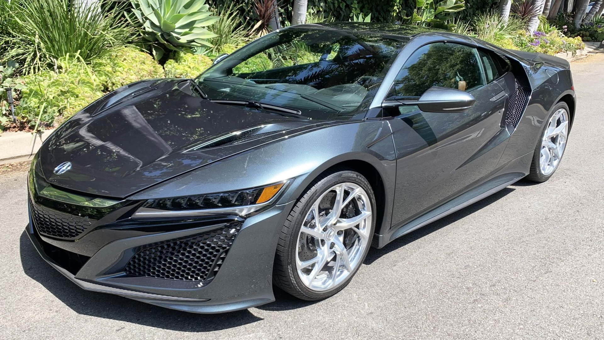 2017 Acura NSX with VIN ending in 004 - Photo credit: Bring A Trailer