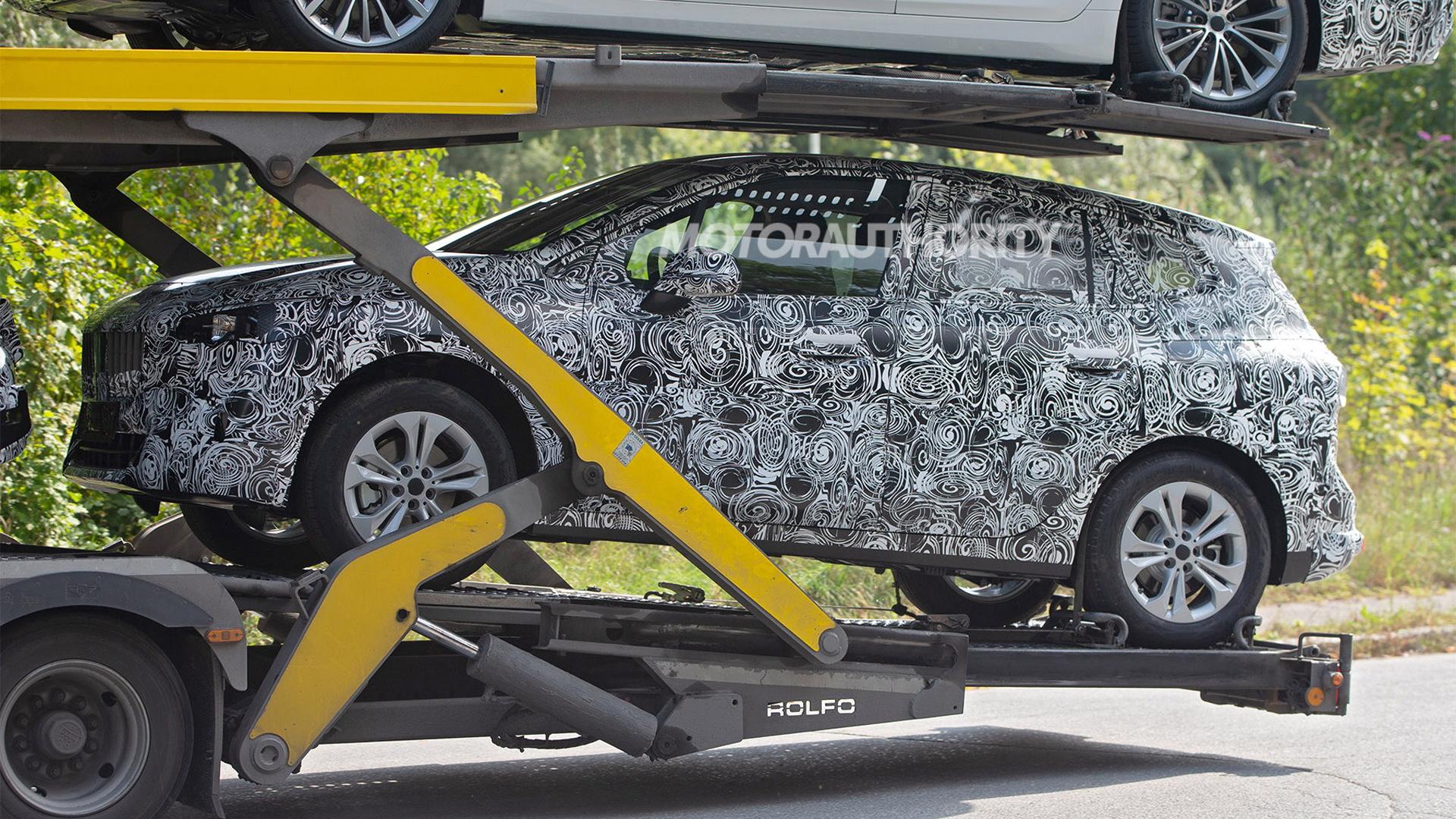 2021 BMW 2-Series Active Tourer spy shots - Photo credit: S. Baldauf/SB-Medien