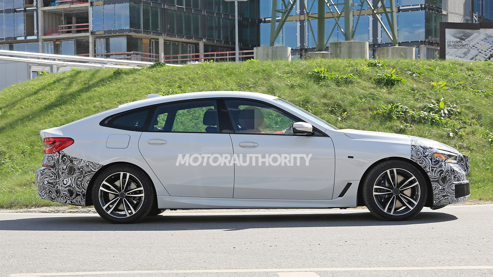 2021 BMW 6-Series Gran Turismo facelift spy shots - Photo credit: S. Baldauf/SB-Medien