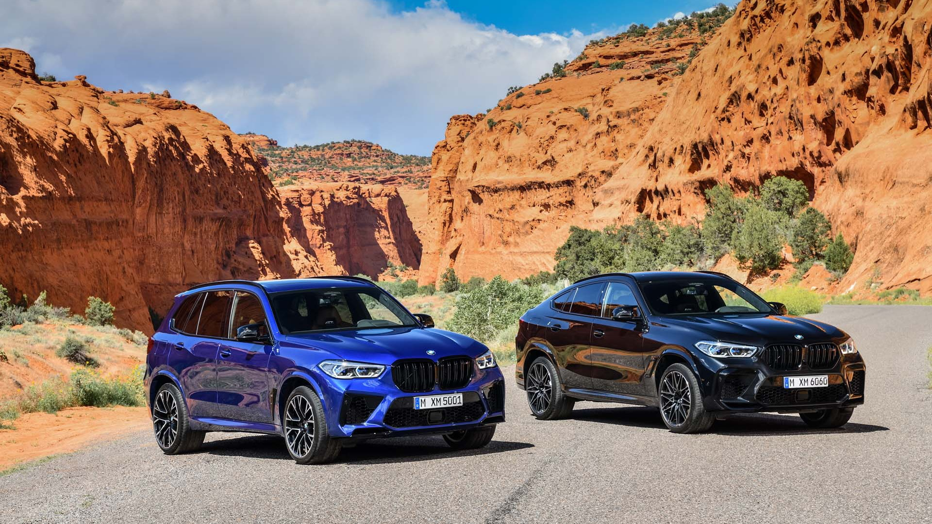 2020 BMW X5 M Competition and X6 M Competition