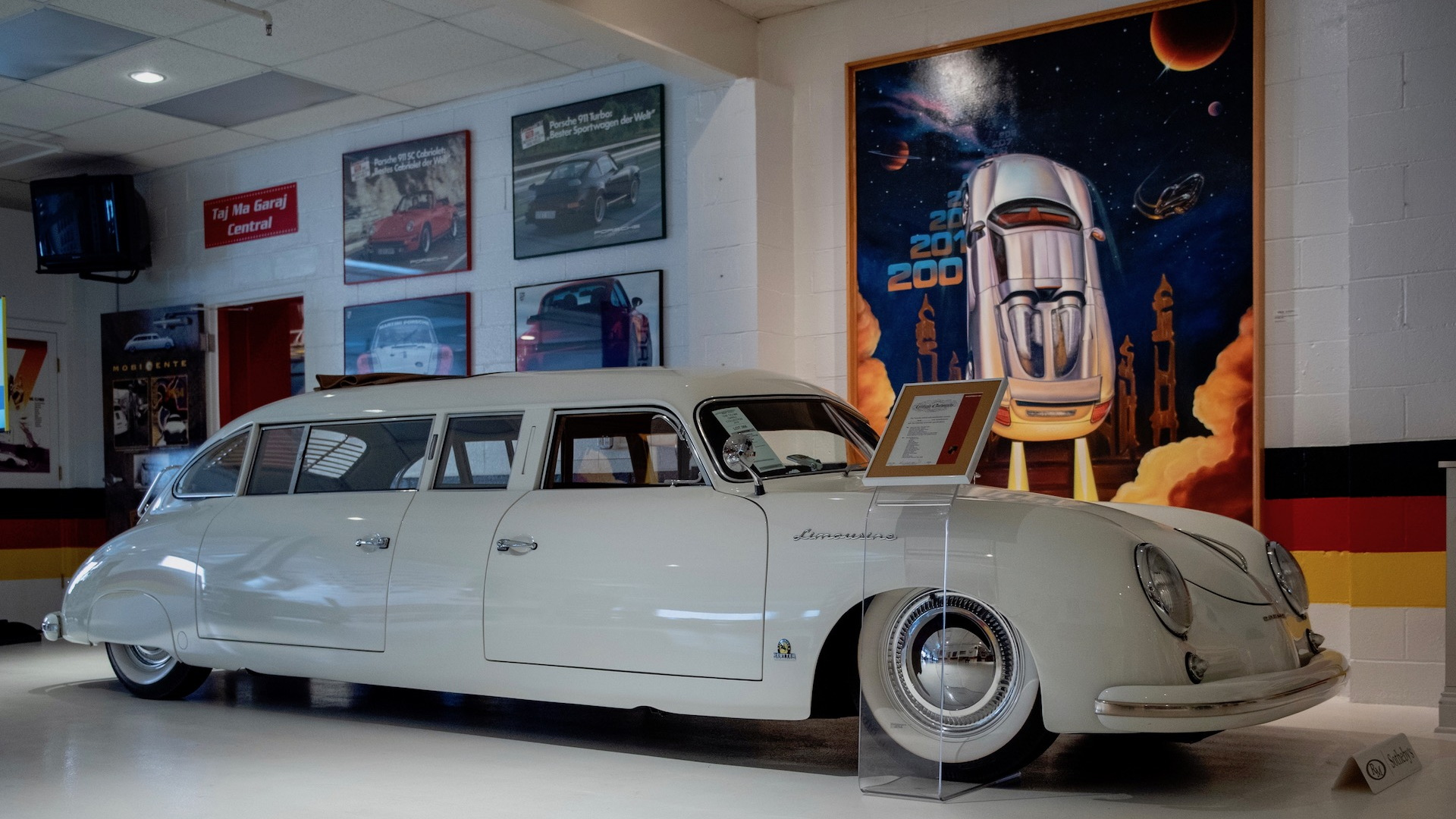 1953 Porsche 356 limousine from the Taj Ma Garaj auction