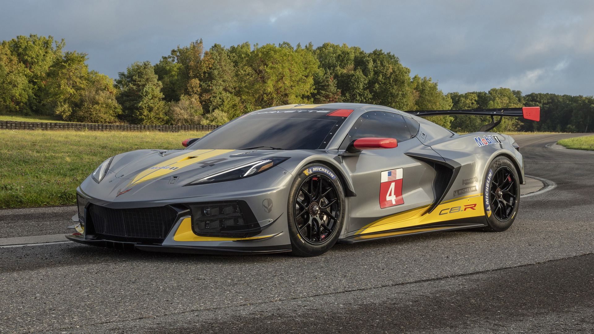 The Corvette C8.R Racer's Engine Will be in a Road Car