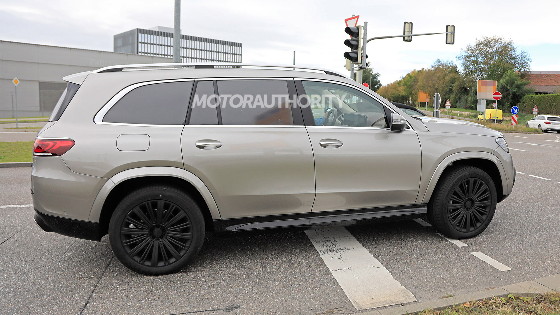 2021 Mercedes-Maybach GLS spy shots - Photo credit: S. Baldauf/SB-Medien