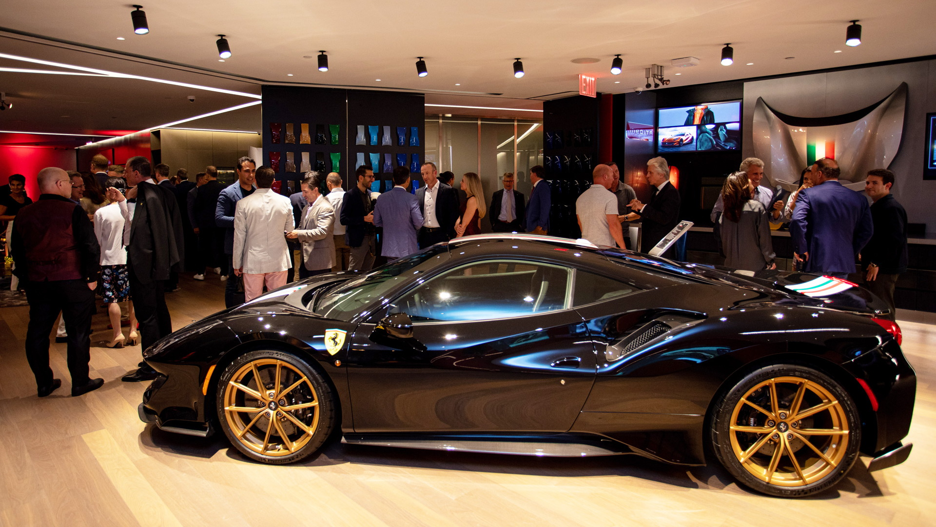 Ferrari Tailor Made Center in New York City