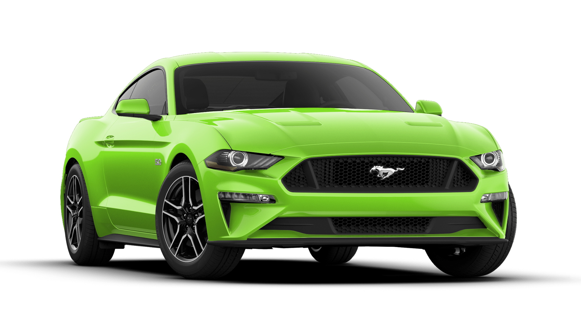 2020 Ford Mustang GT Grabber Lime Green