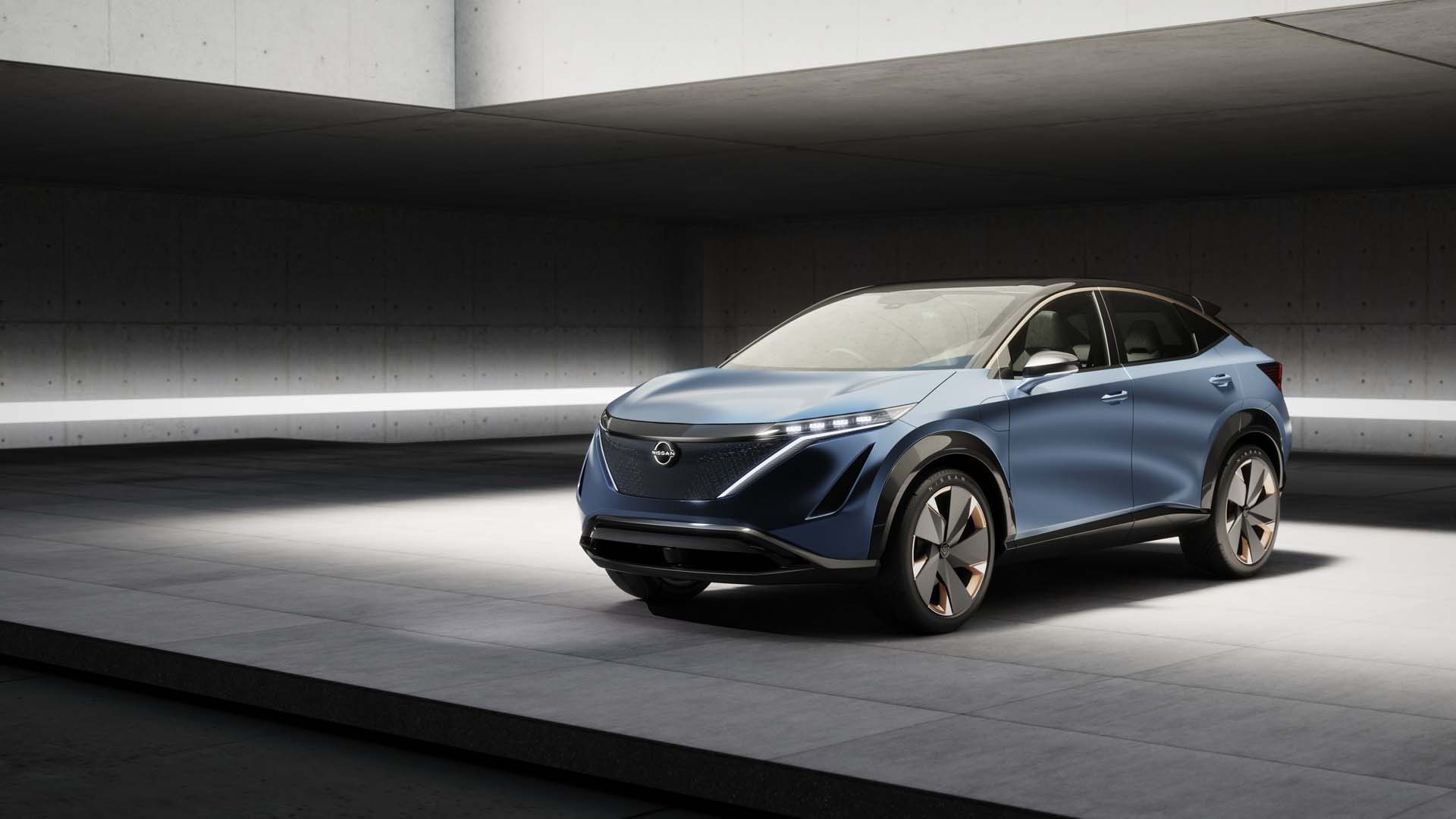 Nissan Ariya Concept Previews Future Midsize EV Crossover