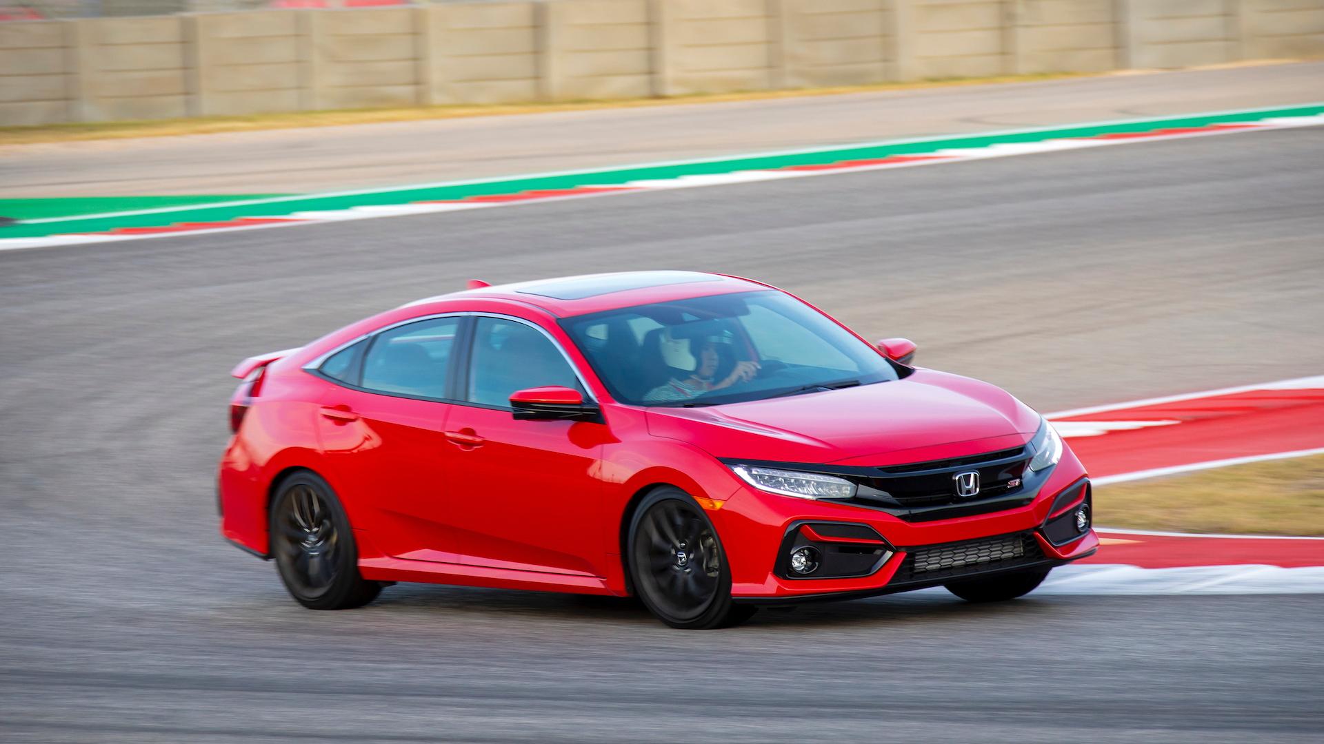 2020 Honda Civic Si media drive, Circuit of the Americas, November, 2019