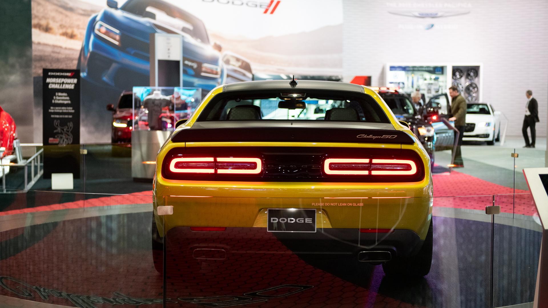 2020 Dodge Challenger 50th Anniversary, 2019 LA Auto Show