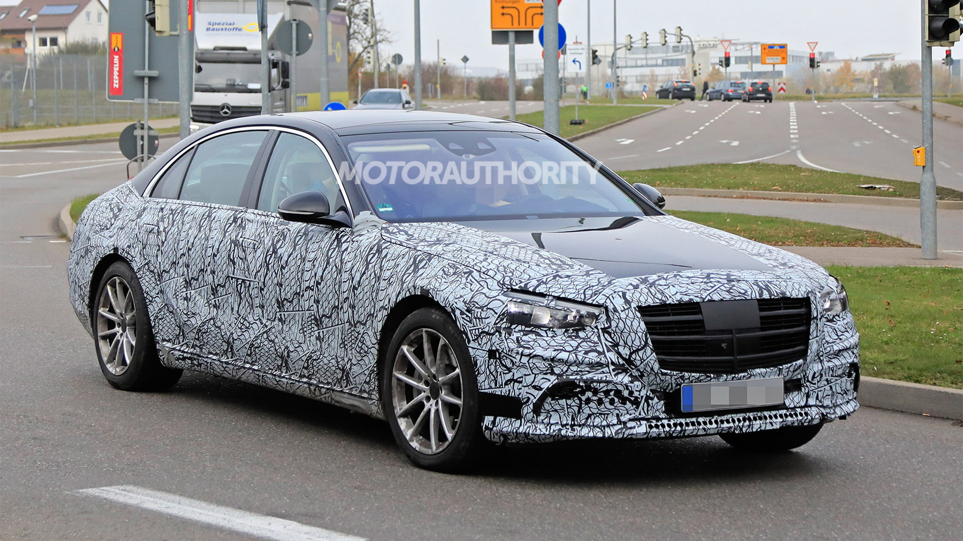 2021 Mercedes Benz S Class Spy Shots And Video