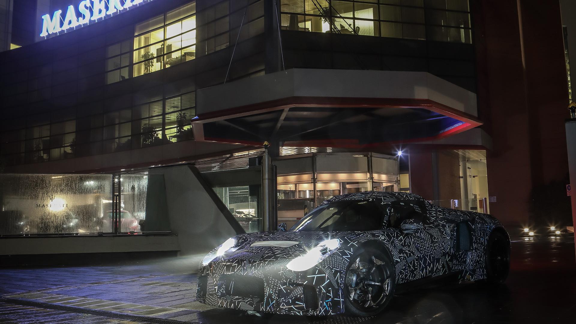 2021 Maserati MC20 test mule