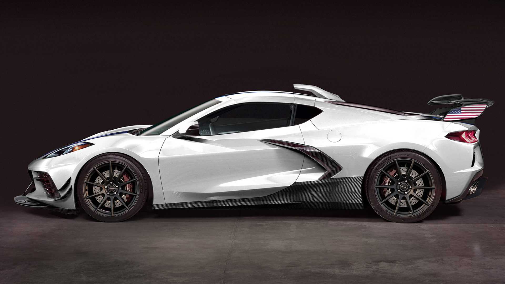 Hennessey readies 1,200-hp, twin-turbo upgrade for the C8 ...
