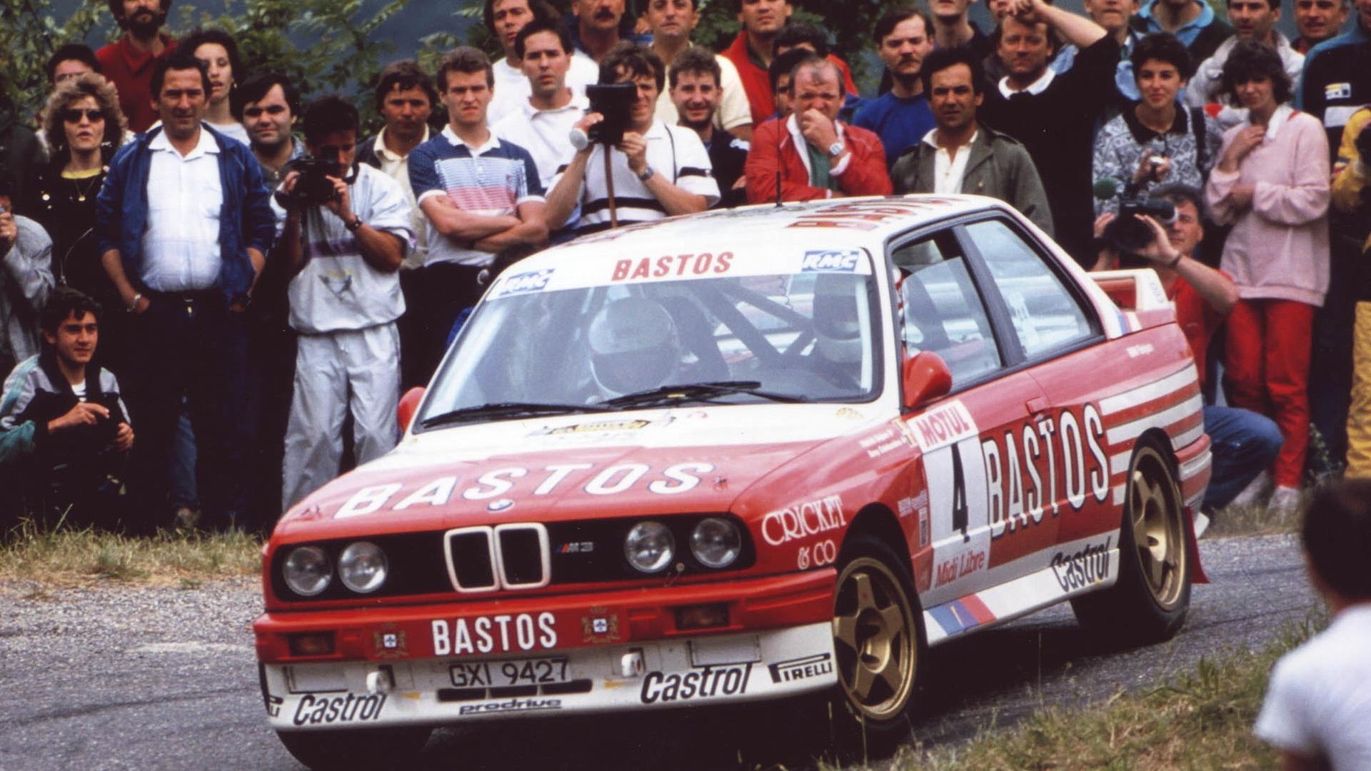 E30 BMW M3 rally car built by Prodrive