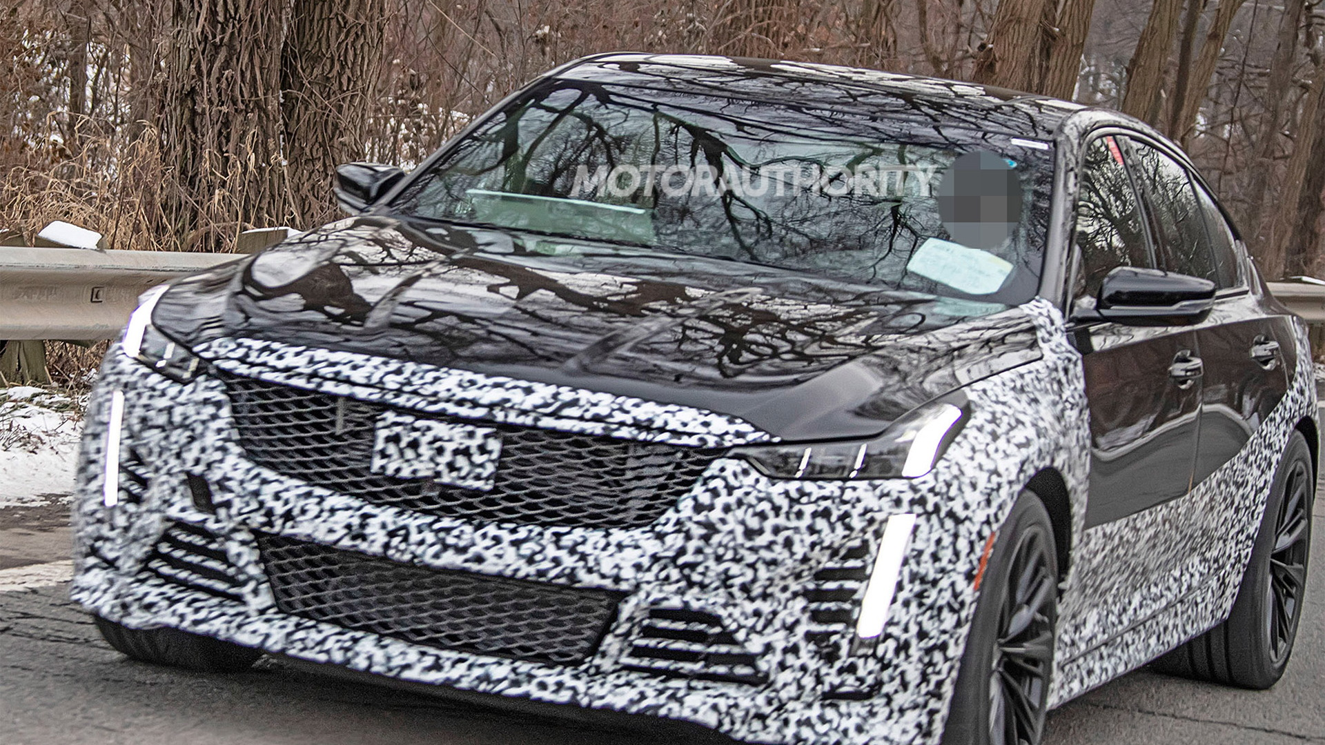 2021 Cadillac CT5-V Blackwing spy shots and video
