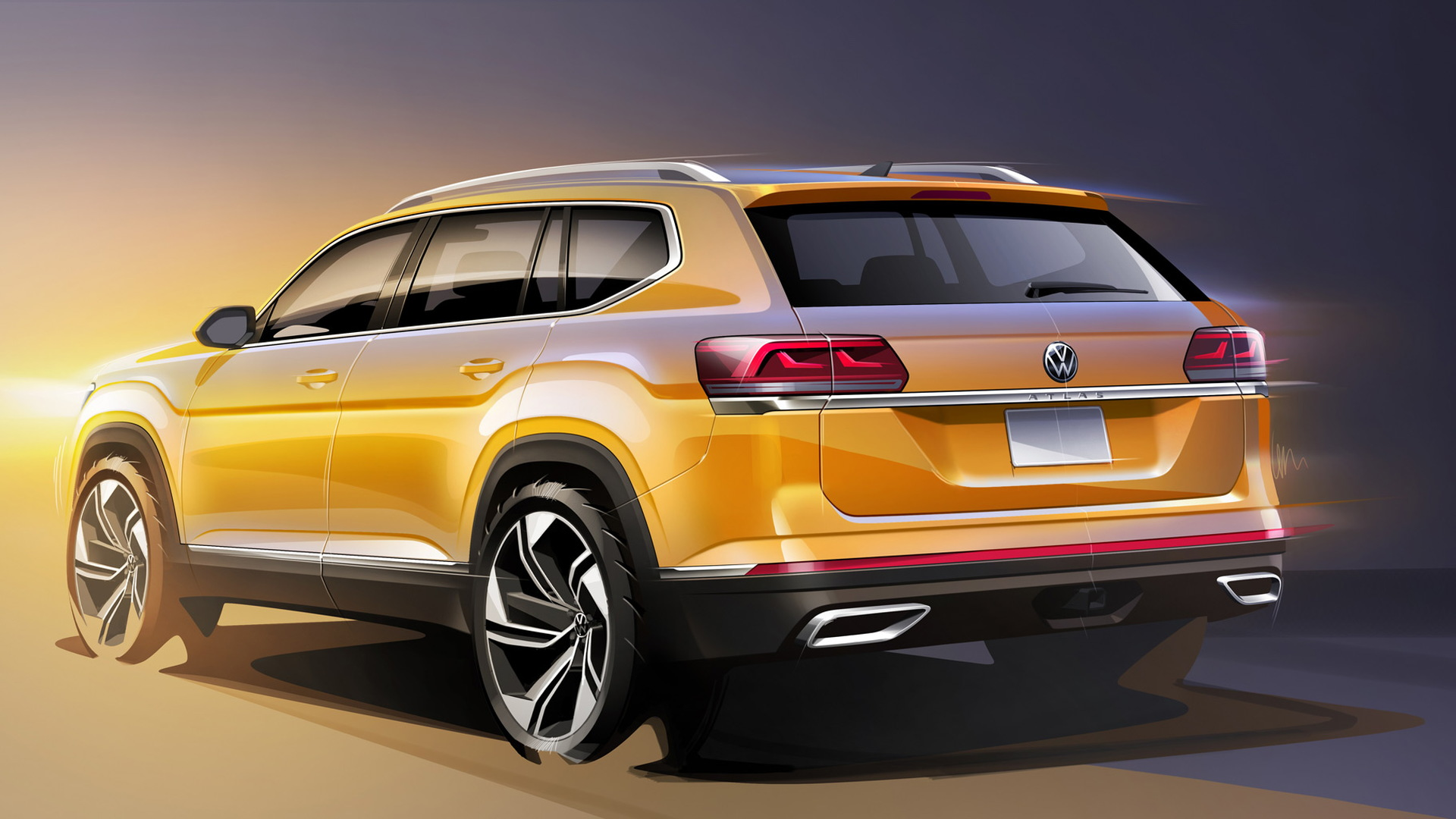 Teaser for 2021 Volkswagen Atlas